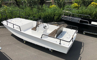 Fiberglass Fishing Boat 420