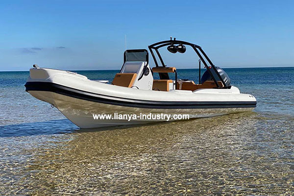 Liya new luxury inflatable rib boat is launched